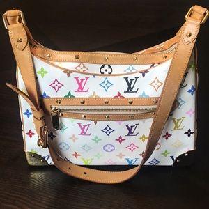 Louis Vuitton, Boulogne Multicolored Bag,Murakami